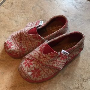 Tons snowflake shoe